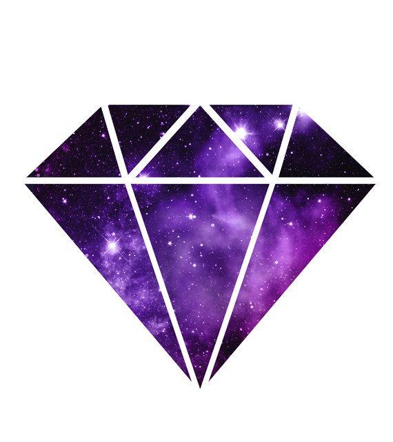 Space Diamond Nebula Galaxy Print Magenta And Purple Orion Nebula Geometric Gem Diamond Wall Art Di Diamond Wall Diamond Wallpaper Diamond Drawing