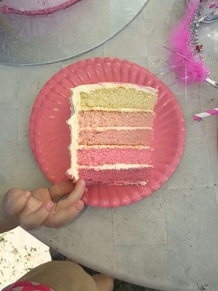 Princess cake ombre
