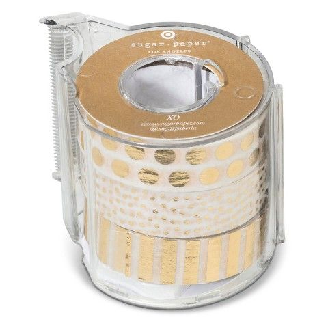 Sugar Paper Gold Patterned Washi Tape