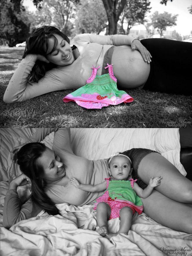 fotos originales  embarazo 3