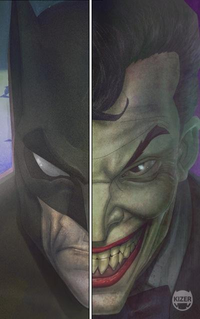 Half Good Half Evil..Bats/Joker: Batman Vs, Batman Villains, Batmann Friends, Batman Stuff, Batman 3, Dc Batman, Jokers, Daily Superheroes Face, Batman Joker Dc