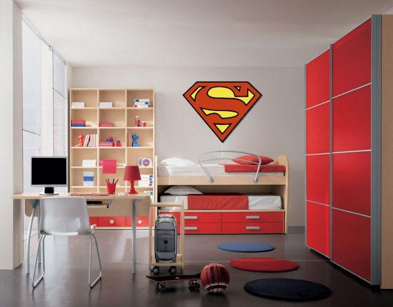 Superman Sign Wood Lighting Siluet Wall Art от Woodpekers