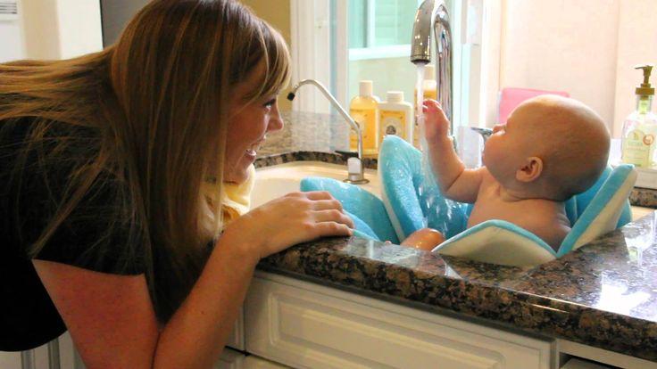 Blooming Bath - Bezpieczna i komfortowa kąpiel dla twojego dziecka nawet w umywalce,może być bardzo  przydatny w podróży