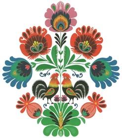 polish folk design