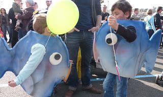 Sophie {L}: DIY - costume de poisson !