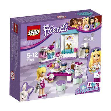 LEGO Friends Stephanies vriendschapstaartjes 41308  Help Stephanie en haar konijntje Daisy heerlijke cupcakes bakken in haar keuken met deze LEGO Friends-set. LEGO-nr. 41308  EUR 10.99  Meer informatie
