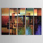 Handgeschilderde Abstract Landschap Olie schilderijen,Modern Drie panelen Canvas Hang-geschilderd olieverfschilderij For Huisdecoratie 2017 - €79.53