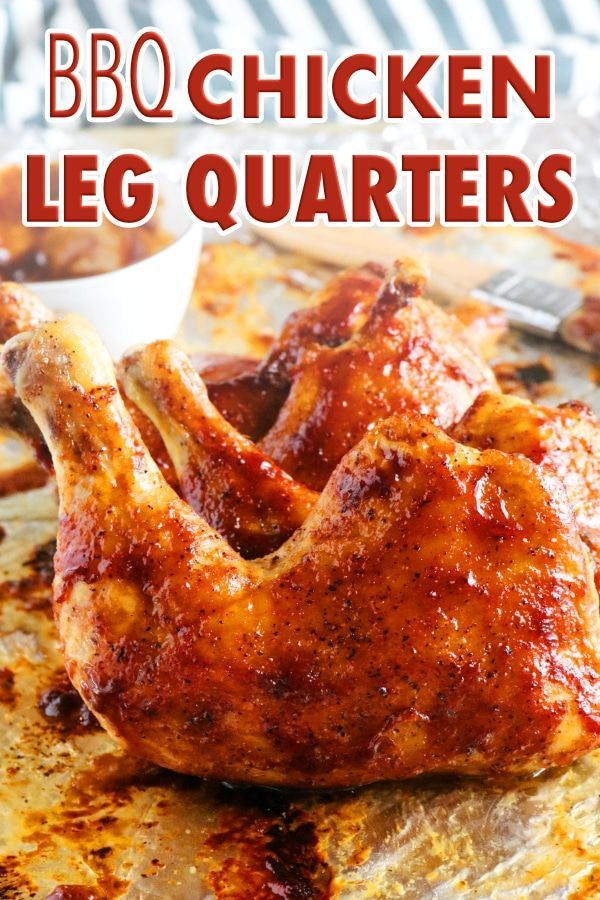Bbq Baked Chicken Quarters Recipe Baked Bbq Chicken Chicken Quarter Recipes Baked Chicken Quarters