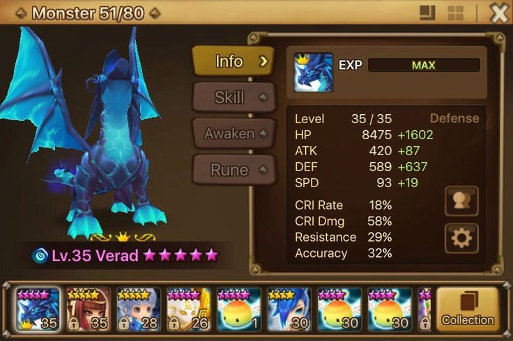 Summoners War Account Baby Starter Global Lvl 24 - Verad - Sekhmet-Woosa