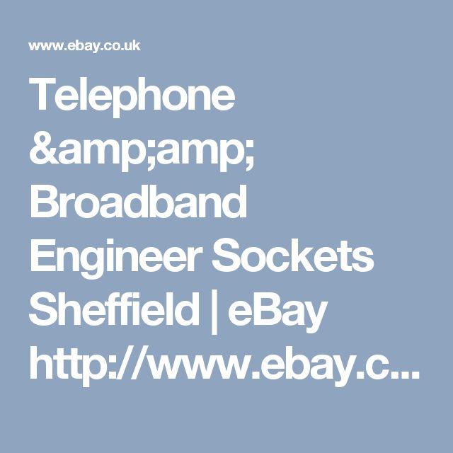 Telephone & Broadband Engineer Sockets Sheffield  | eBay    http://www.ebay.co.uk/itm/-/262911495145?