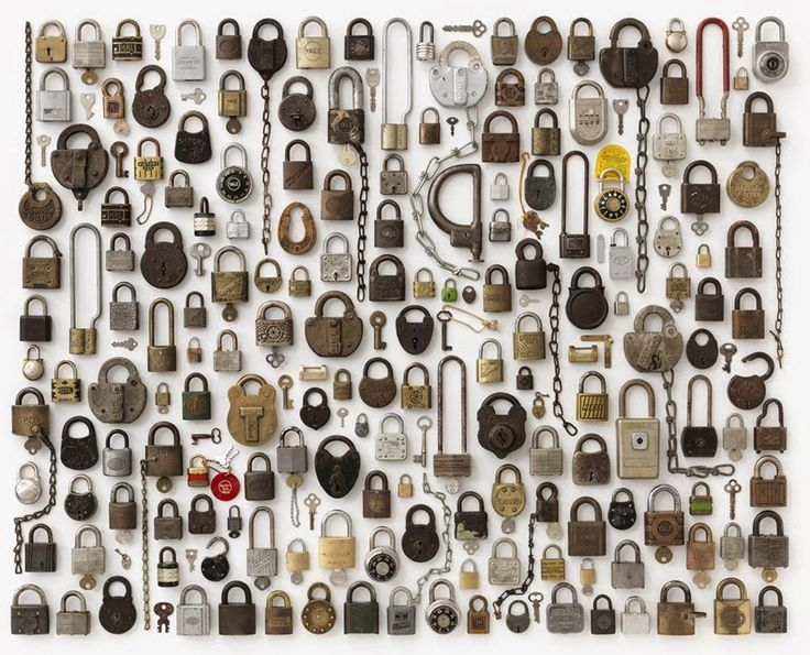 Jim Golden's photographs of neatly arranged everyday objects. Why does this make me so happy?