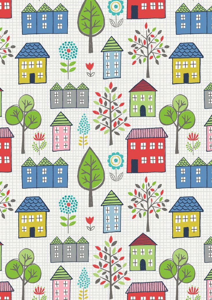 Lewis & Irene - 'Town & Country' fabric www.lewisandirene.com
