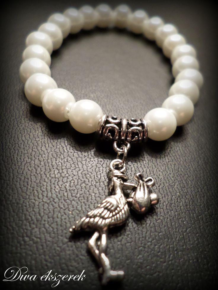 #bracelet #baby #born #white  https://www.facebook.com/divaekszerek