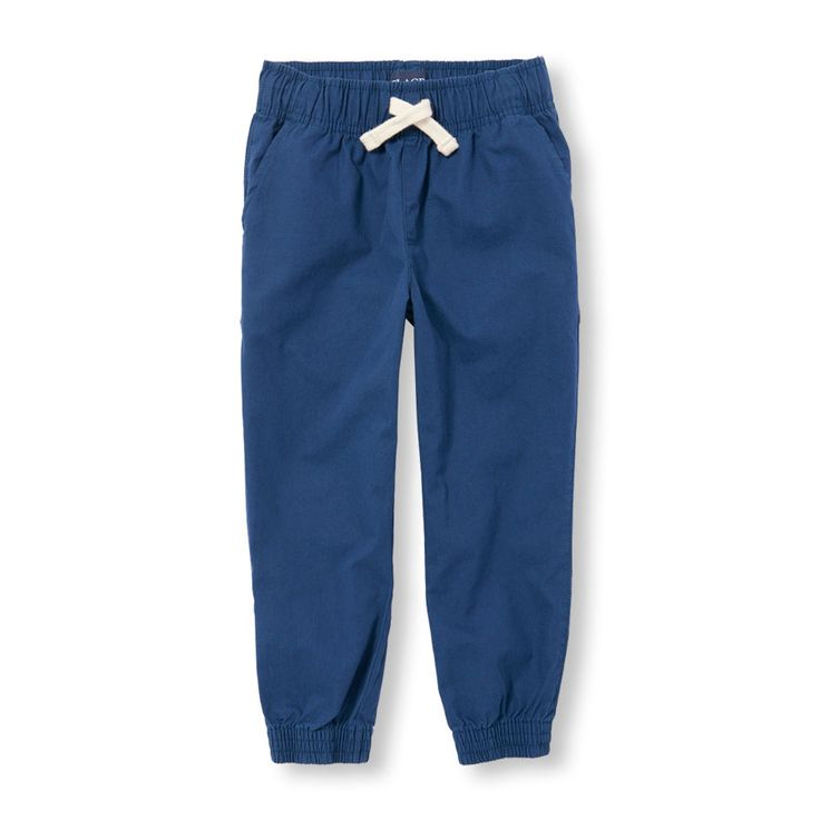Boys Pull-On Woven Jogger Pants