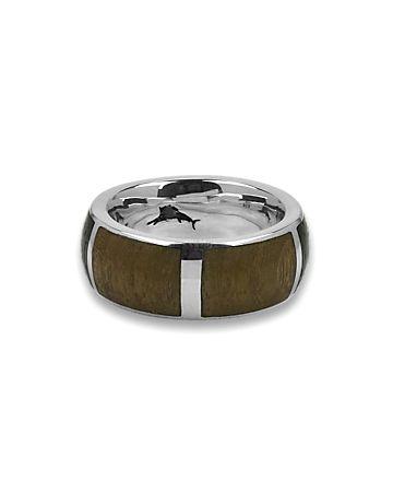 Tommy Bahama - Surfboard Wood Inlay Ring