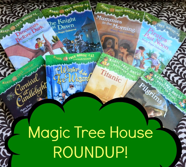 Read it AGAIN, Mommy!: The Magic Tree House series ROUND-UP #linky #pinterestHouse Activities, Parents Teaching, Tree Houses, Magic Trees, Chapter Book, Trees House, Activities Roundup, Teaching Plays, Book Series
