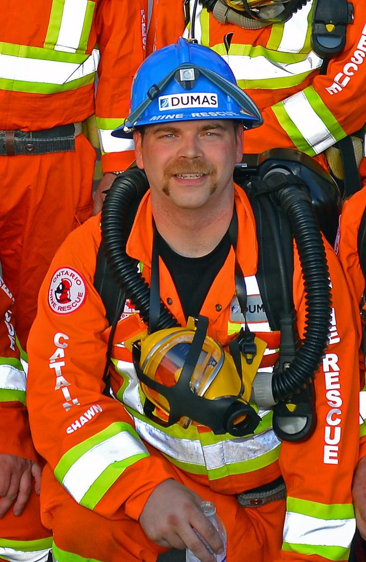 New Chief Mine Rescue Officer at Ontario Mine Rescue: Shawn Rideout