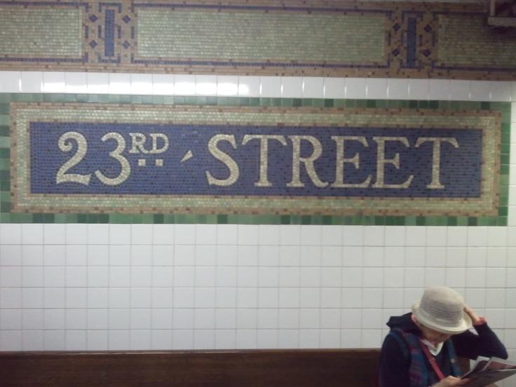 23rd Street Station sign on N Line