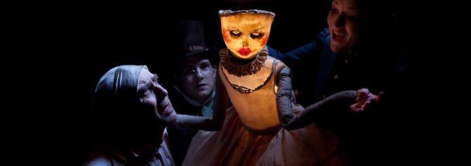 I would love to see this production of A Christmas Carol by the National Theatre of Scotland.