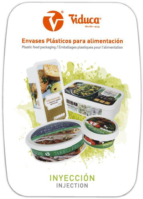 Catálogo de envases de plástico en Inyección. Viduca.com