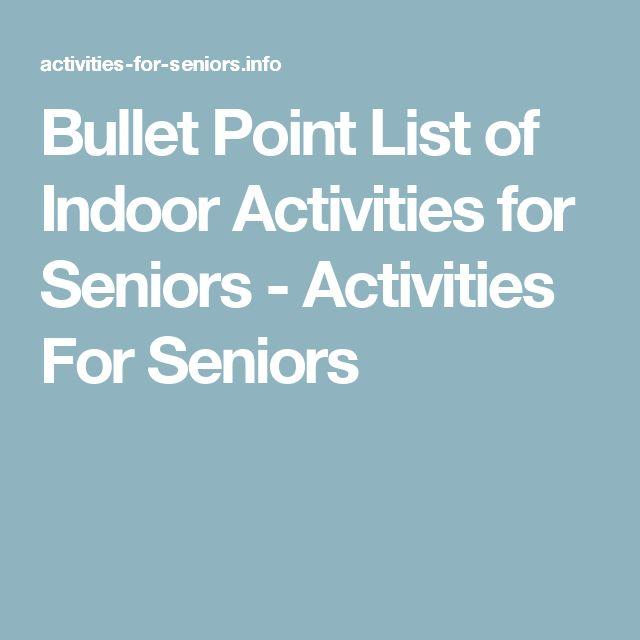Best 25+ Senior Citizen Activities Ideas On Pinterest