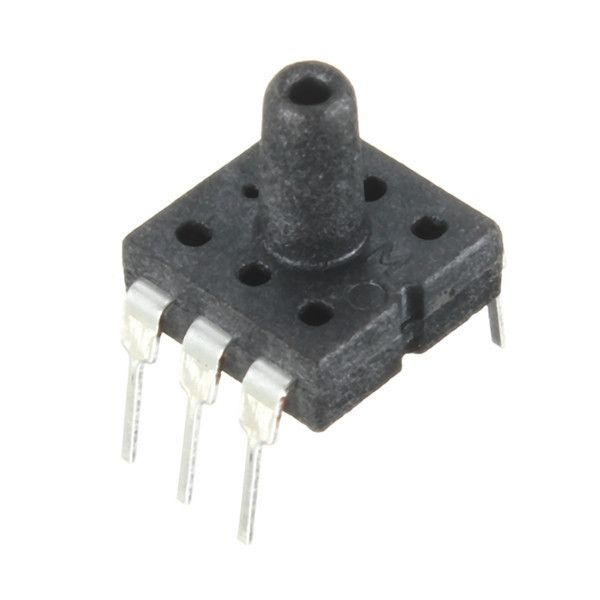 Dip Air Pressure Sensor 0-40kpa Dip-6 For Arduino. DIP Air Pressure Sensor 0-40kPa DIP-6 For Arduino   	Feature: 	   	- This DIP air pressure sensor is suitable for biomedical, meteorology and other fields. The core part is pressure sensor chip which is make by the MEMS pressure technology.  	- With wide applicable temperature range.  	- Easy to use and install.  	- Fits for the following types:   	1. Automobile: tire pressure gauge, vehicle-mounted air pump, the MAP sensors, diagnostic...