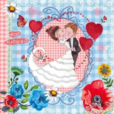 Pas getrouwd (Cartita Design)
