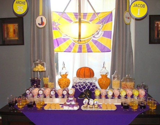 laker party table