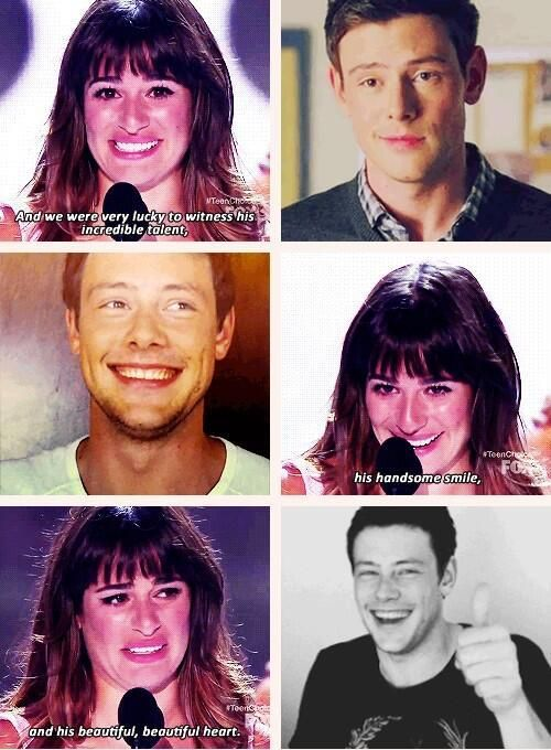 Lea Michele and I are very alike we are ambitious and regret things once they are done. Rip Cory and may u rest in our heart forever.