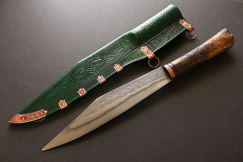 Knives & Seaxes » Cedarlore Forge