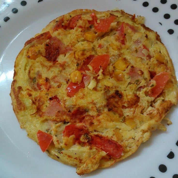Receita de Omelete. Enviada por CASSIA JULIANA ALVES ALEXANDRE e demora apenas 5 minutos.