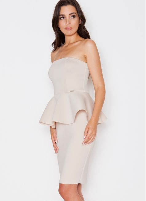 Sukienka Risa Beige Dress