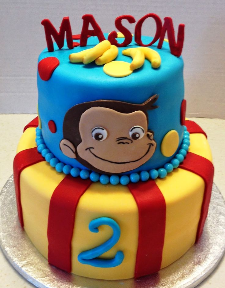 MaryMel Cakes: A Curious George 2nd Birthday!