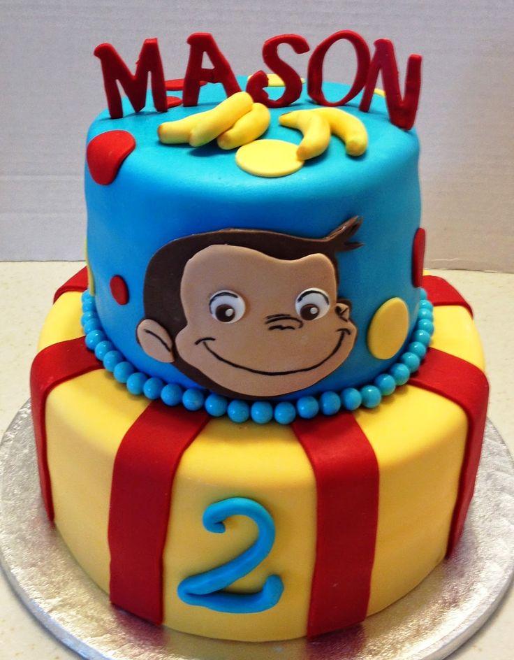 MaryMel Cakes: A Curious George 2nd Birthday!