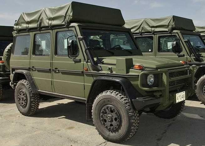 MB Military G Wagon