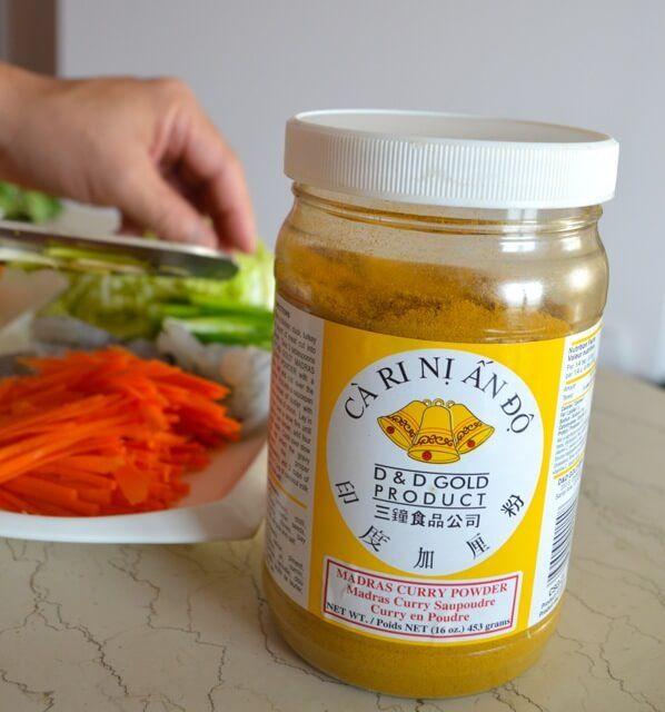 Singapore Noodles (Singapore Mei Fun) (make sure to use g-free ingredients)