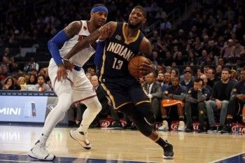 Carmelo Anthony, Paul George thought they were Cleveland-bound on draft night