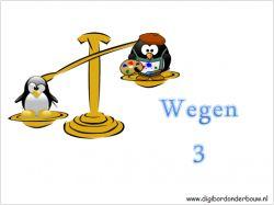 Digibordles Pinguins wegen 3 op digibordonderbouw.nl