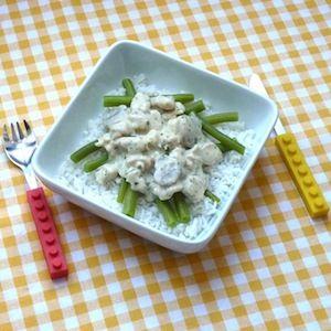 Wel zin in eigengemaakte ragout maar geen uren de tijd? Deze variant staat in een halfuur op tafel! Lekker recept voor kinderen.  http://dekinderkookshop.nl/recipe-items/snelle-kipragout-met-rijst/