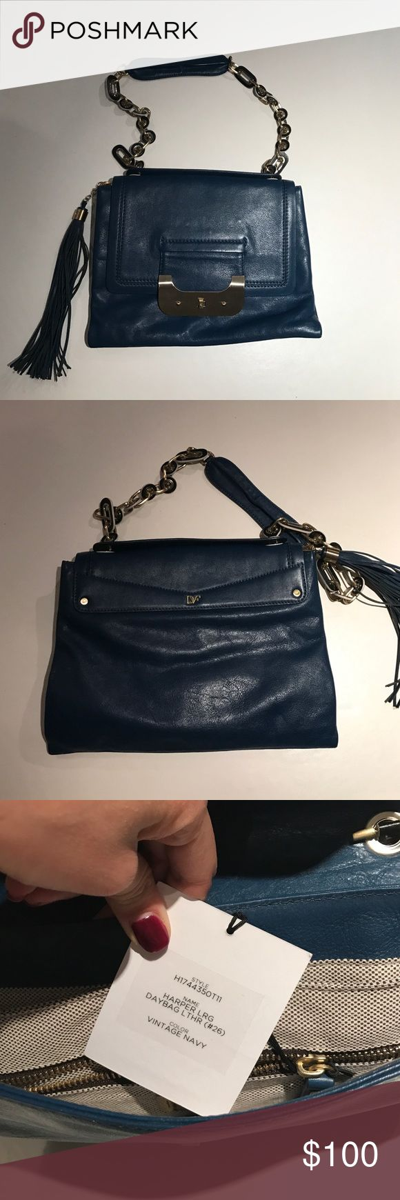 Diane Von Furstenberg Harper Bag Soft Leather Large Envelope Bag/Clutch. Can Also Be Used As A Shoulder Bag Or Cross Body Bag. Gently Used, But In Great Condition. Diane von Furstenberg Bags Shoulder Bags
