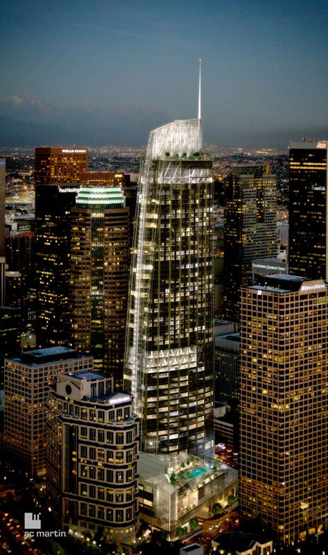 Wilshire Grand Center - The Skyscraper Center