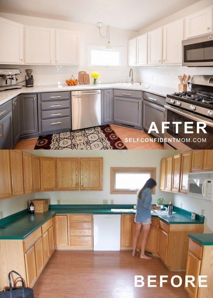 Kitchen Countertop Ideas Farmhouse Kitchen Remodel Budget Kitchen Remodel Kitchen Remodel Small