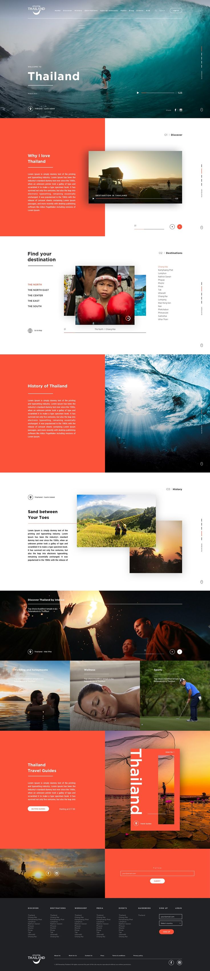 Tourism Authority of Thailand on Behance