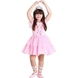 Fantasia Infantil Barbie Quero Ser Bailarina Luxo - Sulamericana Fantasias