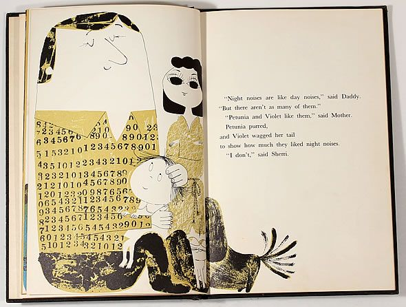 abner graboff - abstract illustration - very beautiful book.