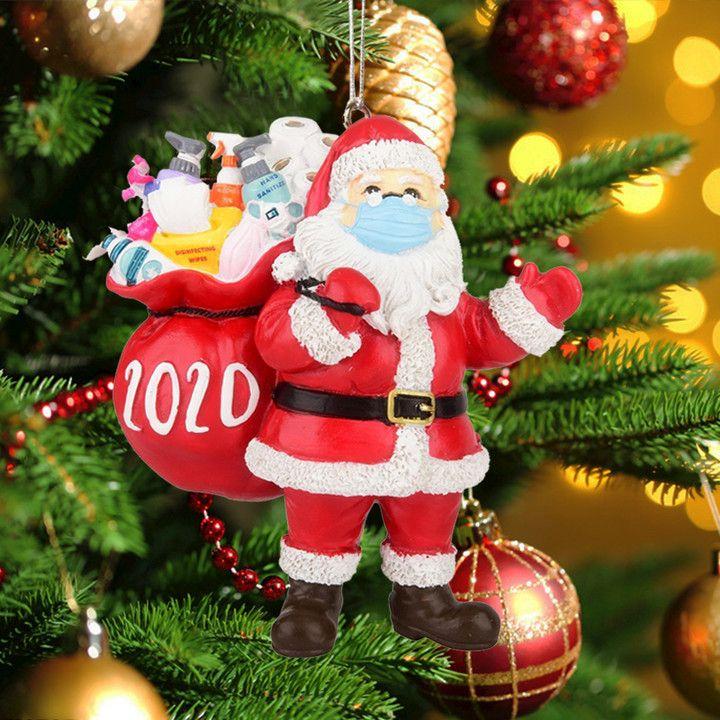 2020 Merry Christmas Santa Wishes Gift Christmas Ornament In 2020 Christmas Ornaments Sale Christmas Ornaments Merry Christmas Santa