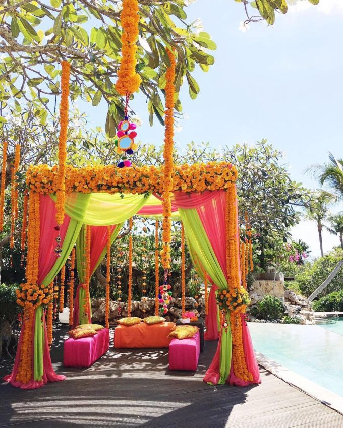 Best 25 indian wedding flowers ideas on pinterest for Bali wedding decoration ideas