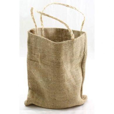Burlap Bag with Handle