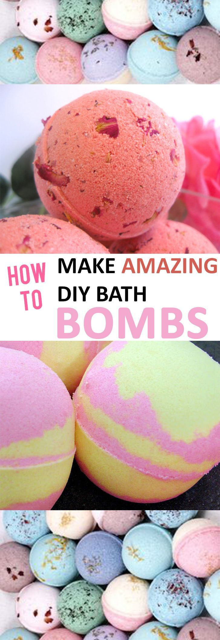 How to Make Amazing DIY Bath Bombs -