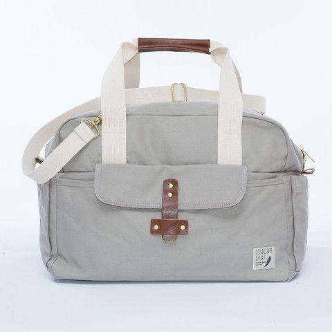 Driftwood Grey Weekender Bag – Birdling Bags | Venture From the Nest